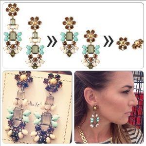 Stella & Dot- Melanie chandelier earrings